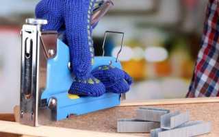 Почему мебельный степлер гнет скобы?