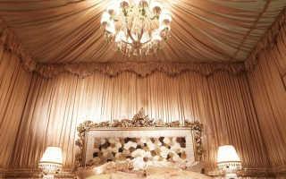 Декор стен тканью своими руками для дома