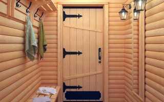 Установка двери в бане поэтапно