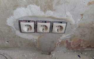 Как врезать розетку в бетонную стену?