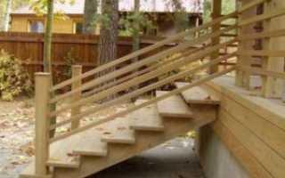 Как сделать входную лестницу крыльцо в дом?