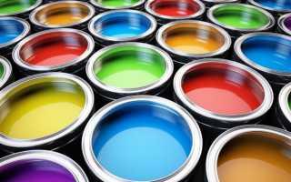 Разноцветная окраска стен