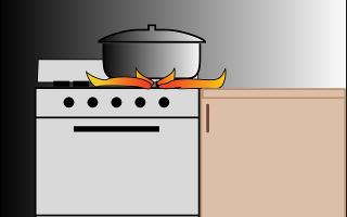 Что проложить между газовой плитой и мебелью?