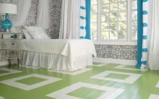 Чем покрасить новый деревянный пол в доме?