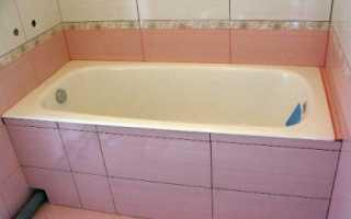 Как правильно установить экран под акриловую ванну?