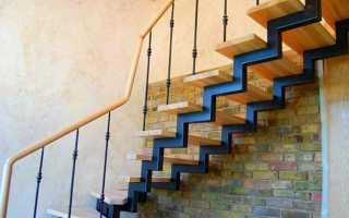 Самодельные лестницы из металла
