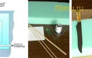 Фильтр для забора воды из водоема