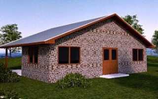 Стены из дров и цемента
