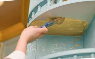 Как покрасить шпонированную мебель в белый цвет?