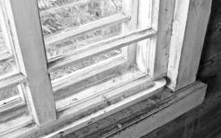 Как покрасить деревянные окна на балконе?