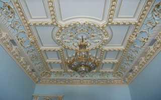 Необычная отделка потолка своими руками