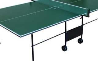 Ножки для теннисного стола своими руками