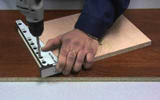 Кондуктор для присадки мебельных деталей