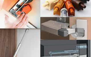 Как починить доводчик на кухонной мебели?