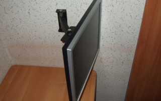 Как прикрепить монитор к стене своими руками?