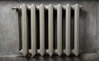 Как снять старую краску с батарей отопления?