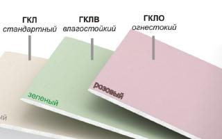 Какой толщины должен быть гипсокартон для потолка?