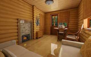 Как установить мебель в бане комната отдыха?