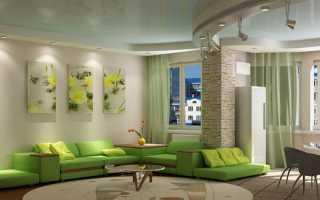 Каким цветом можно покрасить потолок в зале?