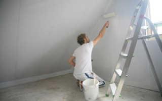 Подготовка стен под жидкие обои технология