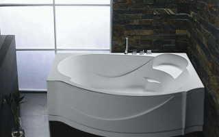 Как правильно установить угловую акриловую ванну?