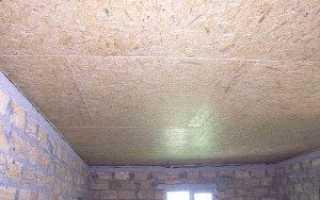 Монтаж гипсокартона на потолке в гараже