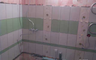 Как рассчитать площадь ванной комнаты под плитку?