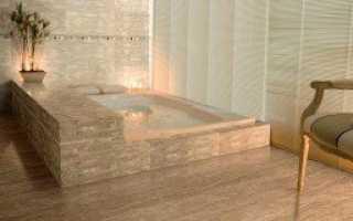Керамогранит для ванной с нескользким покрытием