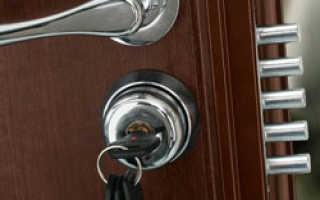 Врезка замка в металлическую дверь своими руками