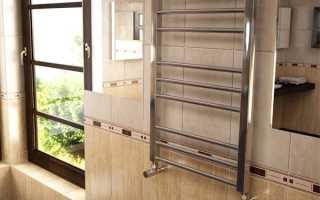 Как поменять полотенцесушитель в ванной в Хрущевке?