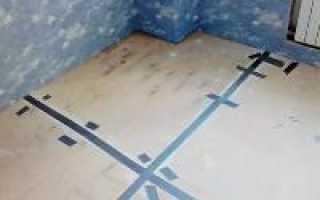Укладка фанеры на бетонный пол под линолеум