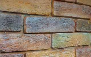 Покраска декоративного камня с эффектом состаривания