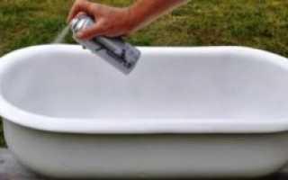 Как правильно покрасить ванну эмалью?