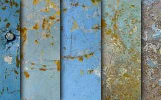 Как почистить ворота от старой краски?