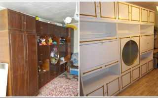 Какой краской можно покрасить мебель из ДСП?