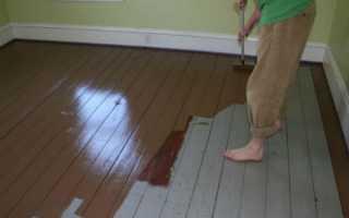 Краска для деревянного пола на улице