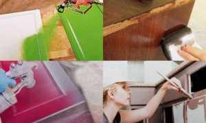 Можно ли покрасить полированную мебель без ошкуривания?