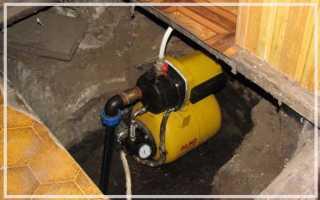 Скважина в подвале дома плюсы и минусы
