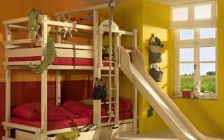 Двухъярусная кровать из двух полуторок своими руками