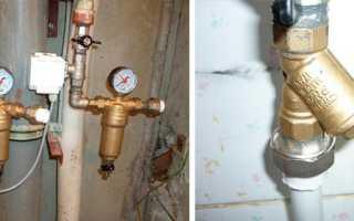 Правильная установка фильтра грубой очистки воды