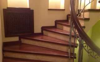 Как прикрепить деревянные ступени к бетонной лестнице?