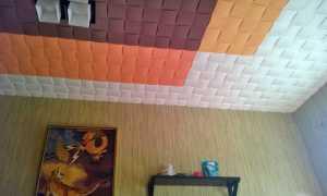 Можно ли покрасить потолочную плитку водоэмульсионной краской?
