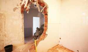 Как перенести стену в квартире своими руками?