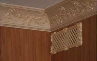 Декоративная вентиляционная решетка в ванную