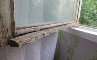 Как красить окна деревянные с облупленной краской?