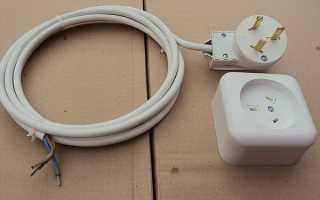 Как перенести электророзетки на кухне?