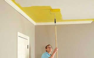 Правила побелки потолка водоэмульсионной краской