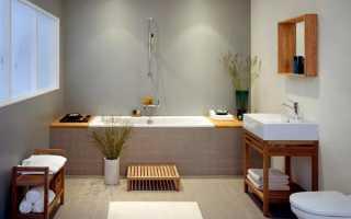 Чем покрасить стены в ванной вместо плитки?