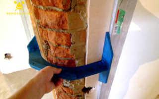 Как закруглить угол стены в квартире?