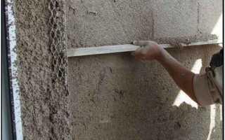 Чем штукатурить арболитовые стены внутри?